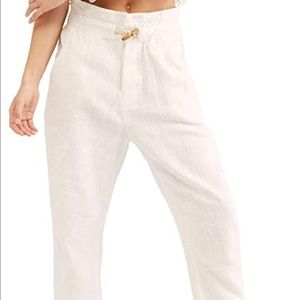 Free People Paradise High Waist Pants NWT